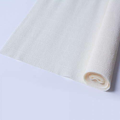Гофрированная бумага цвета слоновой кости