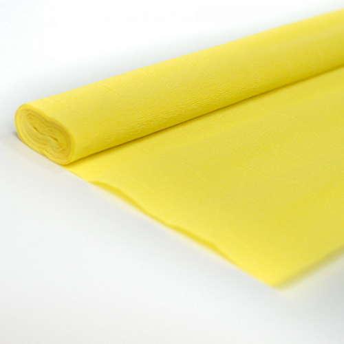 Гофрированная бумага лимонного цвета