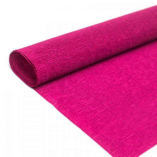 Гофрированная бумага вишнёвого цвета